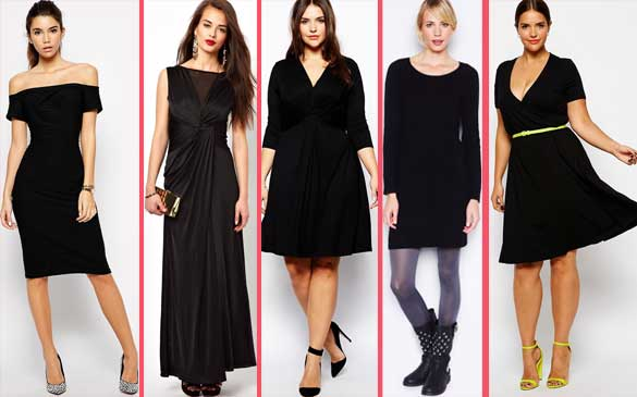 "5 Moduri de a purta ""Little Black Dress""."